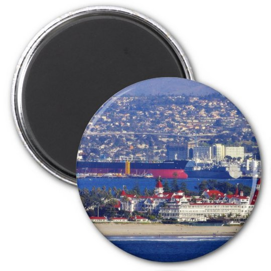 Coronado Seen From The Cabrillo National Monument Magnet