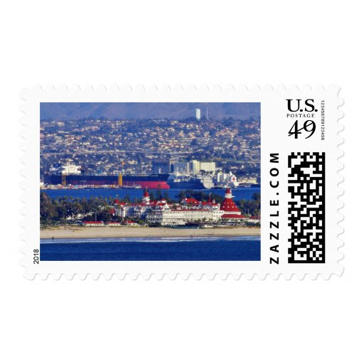 Coronado Seen From The Cabrillo National Monument Stamps