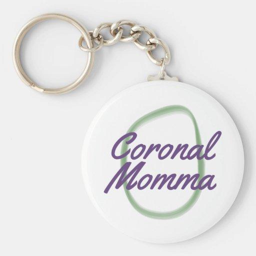 Coronal Momma Key Chains