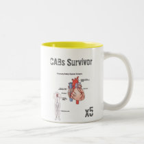 Coronary Bypass Surgery Survivor Mug