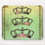 Coronas del *RoYaL para su MouSe* de las majestade Alfombrilla De Raton