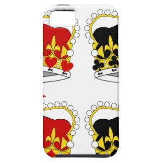 Coronas para las cajas de los teléfonos celulares  iPhone 5 Case-Mate fundas