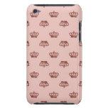 Coronas rosadas iPod Case-Mate carcasas