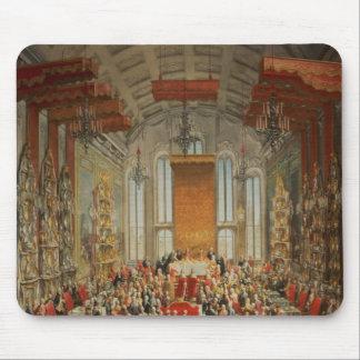 Coronation Banquet of Joseph II in Frankfurt Mouse Pad