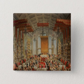 Coronation Banquet of Joseph II in Frankfurt Pinback Button
