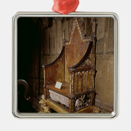 Coronation chair made for Edward I by 'Walter' Metal Ornament