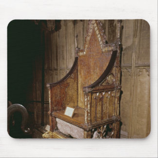Coronation chair made for Edward I by 'Walter' Mouse Pad