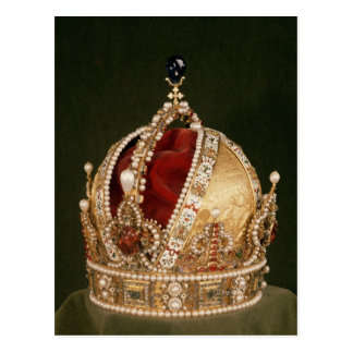 Coronation crown of Rudolph II , c.1576 Postcard