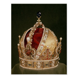 Coronation crown of Rudolph II , c.1576 Poster