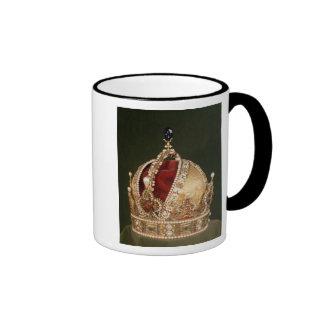 Coronation crown of Rudolph II , c.1576 Ringer Mug
