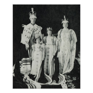 Coronation  King George VI, 1937 Poster