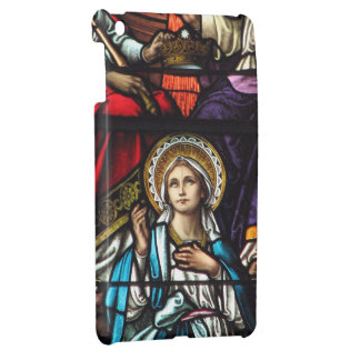 Coronation of Blessed Virgin Mary Stained Glass iPad Mini Cases