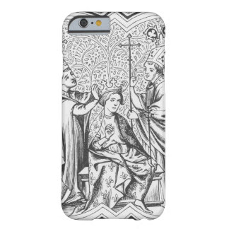 Coronation of Charlemagne (742-814) after a miniat Barely There iPhone 6 Case
