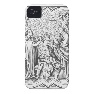 Coronation of Charlemagne (742-814) after a miniat Case-Mate iPhone 4 Case
