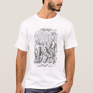 Coronation of Charlemagne (742-814) after a miniat T-Shirt