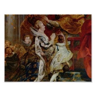 Coronation of Marie de'Medici Poster