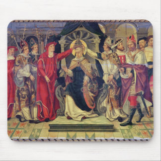 Coronation of Pope Celestine V  in August 1294 Mouse Pad