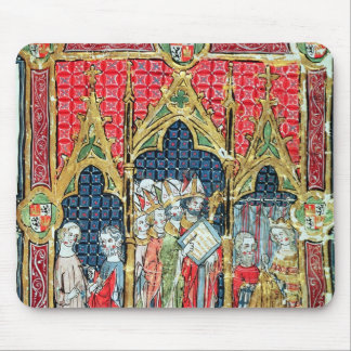 Coronation of the Kings of Aragon and Castille Mouse Pad