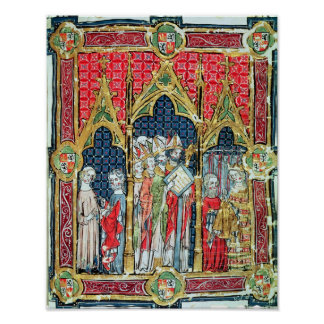 Coronation of the Kings of Aragon and Castille Poster