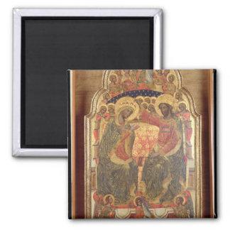Coronation of the Virgin, 1372 Magnet