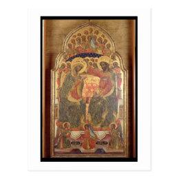Coronation of the Virgin, 1372 Postcard