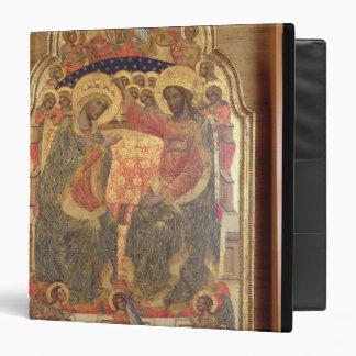 Coronation of the Virgin, 1372 Vinyl Binders