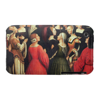 Coronation of the Virgin, 1513 (oil on panel) (det iPhone 3 Cover