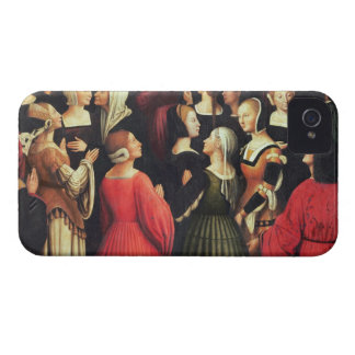 Coronation of the Virgin, 1513 (oil on panel) (det iPhone 4 Case-Mate Cases