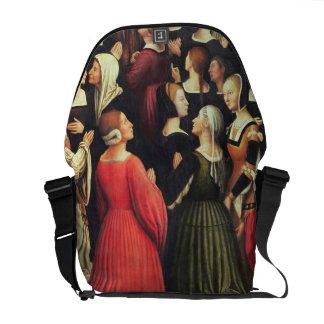 Coronation of the Virgin, 1513 (oil on panel) (det Courier Bags