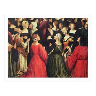Coronation of the Virgin, 1513 (oil on panel) (det Postcard