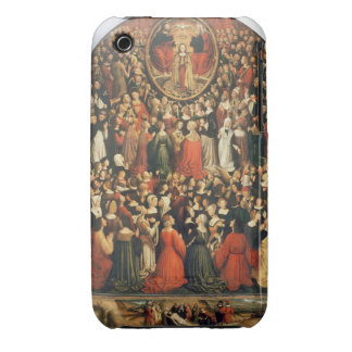 Coronation of the Virgin, 1513 (oil on panel) iPhone 3 Case-Mate Case