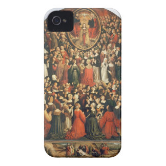 Coronation of the Virgin, 1513 (oil on panel) iPhone 4 Cover