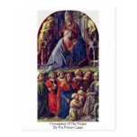 Coronation Of The Virgin By Fra Filippo Lippi Postcards