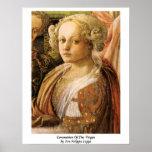 Coronation Of The Virgin By Fra Filippo Lippi Print