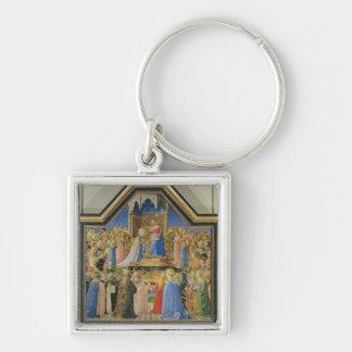 Coronation of the Virgin, c.1430-32 Keychain