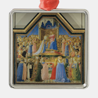 Coronation of the Virgin, c.1430-32 Metal Ornament