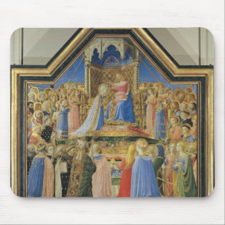 Coronation of the Virgin, c.1430-32 Mouse Pad