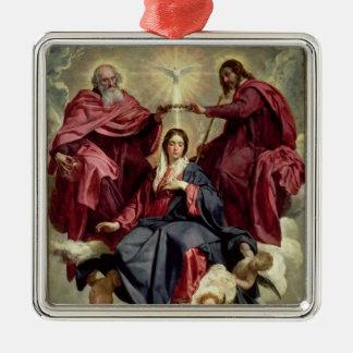 Coronation of the Virgin, c.1641-42 Metal Ornament