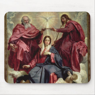 Coronation of the Virgin, c.1641-42 Mouse Pad