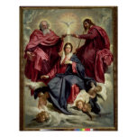 Coronation of the Virgin, c.1641-42 Poster