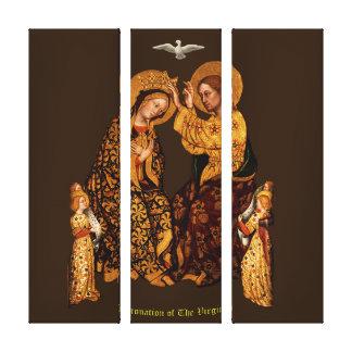 Coronation of The Virgin Canvas Print