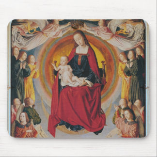 Coronation of the Virgin, centre panel Mouse Pad