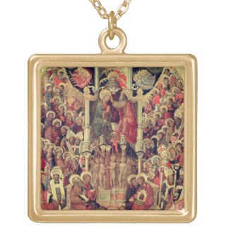 Coronation of the Virgin Gold Plated Necklace