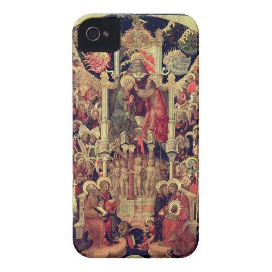 Coronation of the Virgin iPhone 4 Cover