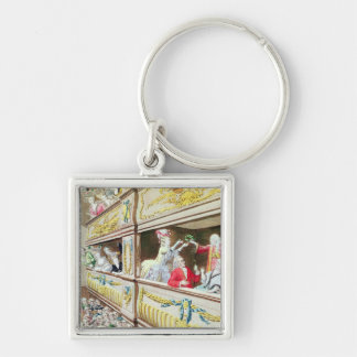 Coronation of Voltaire at the Theatre Francais Keychain