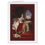 Coronation Portrait of Queen Victoria Card
