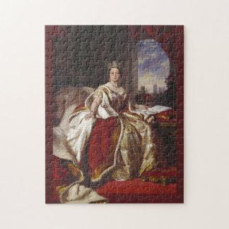 Coronation Portrait of Queen Victoria Jigsaw Puzzle