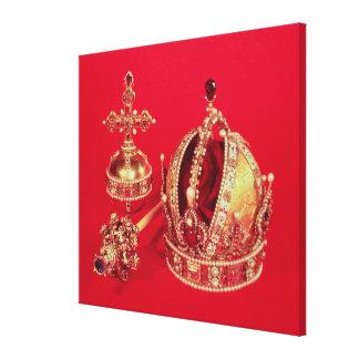 Coronation Regalia of Rudolph II Canvas Prints