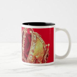 Coronation Regalia of Rudolph II Two-Tone Coffee Mug