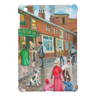 Coronation Street oil painting iPad Mini Covers